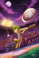 Dreaming Base Ball by MarioPons