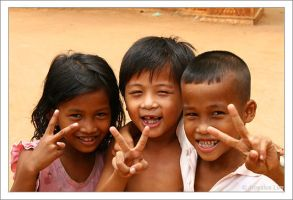 Faces Of Cambodia 01 by lomolurgee