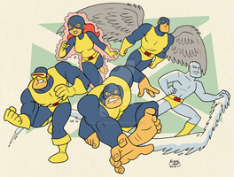 X-Men by BezerroBizarro