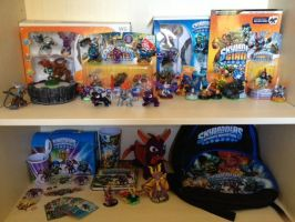 Skylanders collection 2 by spyroatwarfang
