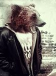 Mishka the Urban Bear by UEY-S