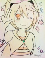 .:REQUEST:. Chiyo (traditional) by J10-E-2