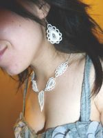 Seyrie earrings by Lincey