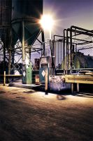 Gas Station by lomax-fx