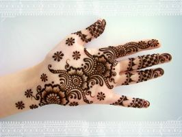 indian mehandi by MehandiArtist