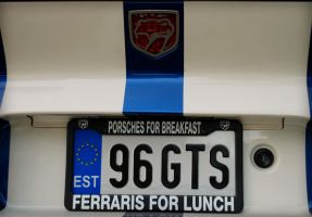 An epic license plate by krissu345