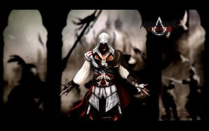 Assassin's Creed II Wallpaper by igotgame1075