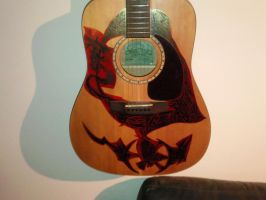 Guitar Art- S and P: Study 5 by EndsOfInvention