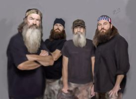 Duck Dynasty Request by Jake-Kot