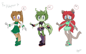 Sonic oc adoptables :closed: by TantanChu