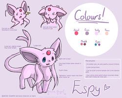 Reference Sheet: Espy by Espyfluff