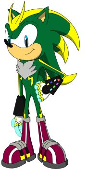 Statyx the Hedgehog 2016 Revamp by Green-Bolt