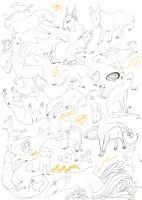 sketch dump VIII by Xeerah
