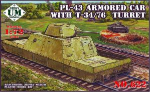 Broneploschadka PL-43 with a tower T-34/76 1941 re by TheDesertFox1991