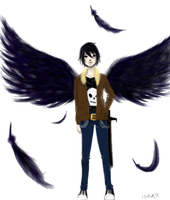 Nico diANGELo by Isacax