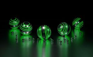 Green Balls by Tirbalsking