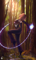 Outcast Odissey - Forest Witch by RobertoGatto