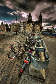 Very Amsterdam - HDR by Ageel