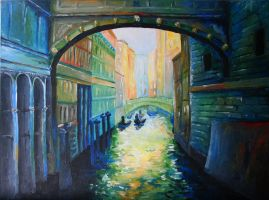 Fauvist Venice by howlettn88