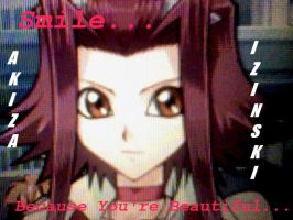 TF4 Akiza Izinski Wallpaper: You're Beautiful Aki by TheBlackRoseWitch