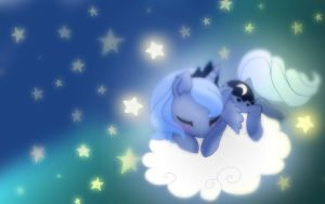 Luna Sleeping by Lunaltaria