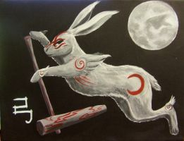 Yumigami: Moonhare by my-ain-sel