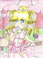 Peach and All Her Sweets by megadaisy1