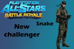 Playstation all-stars battle royale Snake moveset by CapcomGuy