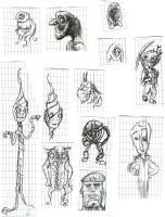 Doodle Compilation 5 by the-awaken