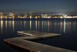 Barrie at Night by ElevenSpecial