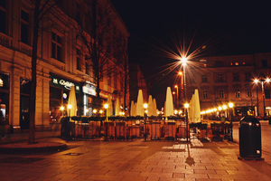 Cracow by night by loker90
