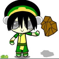 Toph Puff by zfiledh