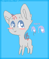 Chibi pony Base :3 ~Read Da Rules!~ by Cabooselover