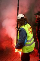 Manifestation CGT and Fireman by tifrize
