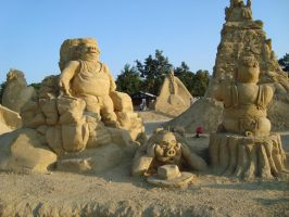 Sand art in burgas 21 by tonev