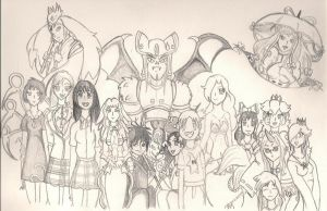 That is alot of Characters by TheGloriesBigJ