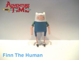 Finn The Human Papercraft by poethetortoise