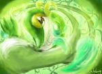 Snivy Leaves, Vine, all for Gracefulness by Rinnemi