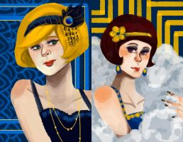 1920s Girls by Hinapouri