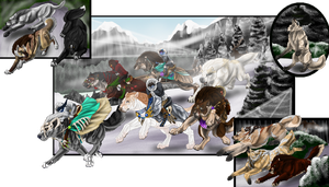 Christmas Event-Jingle Chase by LadyDeathsGhost