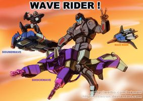 WAAAVE RIDER! by littleiron