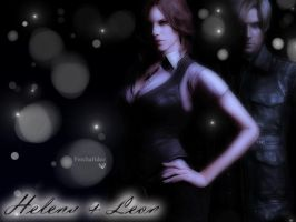 Helena and Leon by JillValentinexBSAA