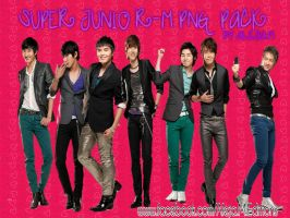 SUPER JUNIOR-M PNG PACK by DDLoveEditions
