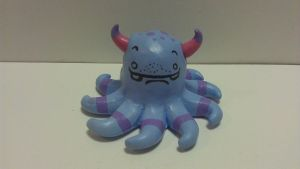 purple monster friend 2 by ColleensCritters