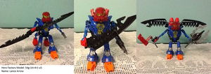 Hero Factory MOC: Lance Arrow by Terry93