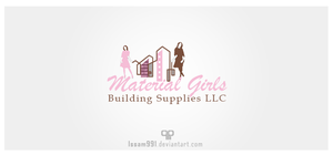 Logo Material Girls by issam991