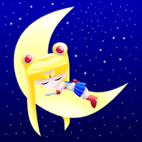 Sailor Moon 3d colors by MikariStar
