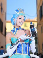 Blue Rose Tiger and Bunny cosplay pepsi spot by valentinachan