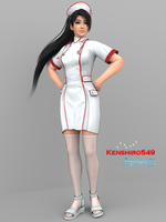Momiji: Nurse (Collab) by SupernovaX2