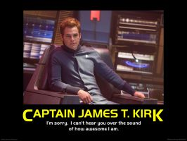 James T. Kirk - Awesome by FleetCommander